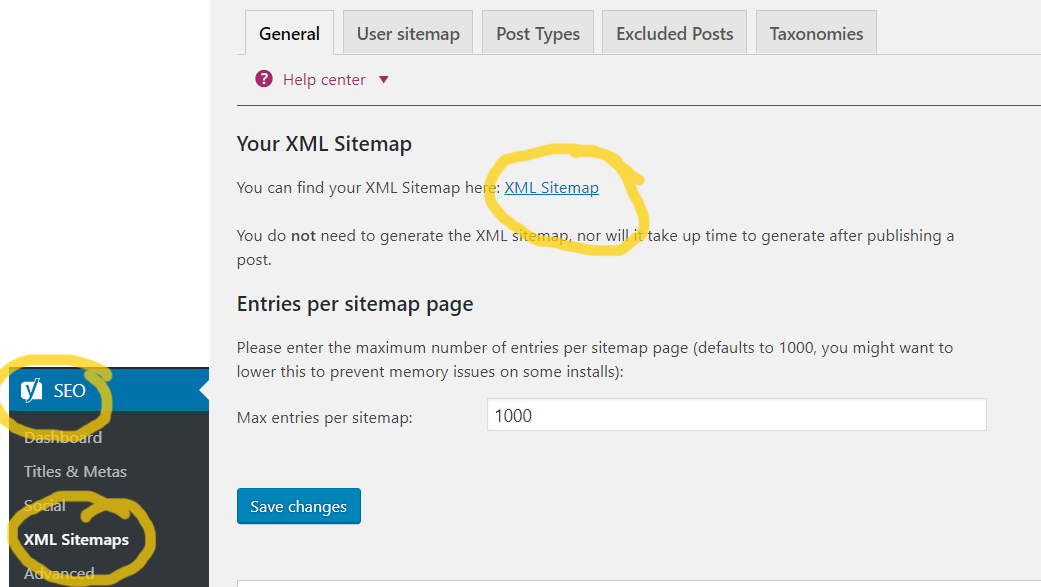 How to create SITEMAP and SUBMIT it to Google